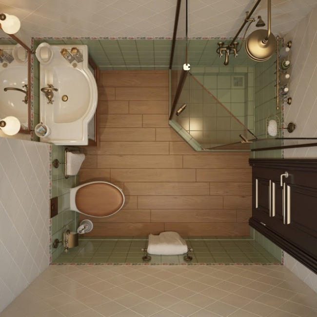 11 ideas para dise ar un cuarto de ba o peque o - Reloj cuarto de bano ...
