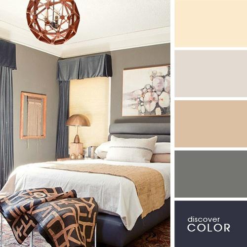 20 exquisitas combinaciones de colores para un hogar - Gama de colores grises ...