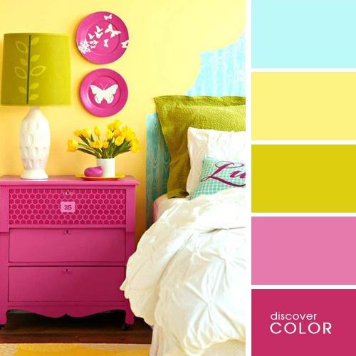 20 exquisitas combinaciones de colores para un hogar - Combinacion colores habitacion ...