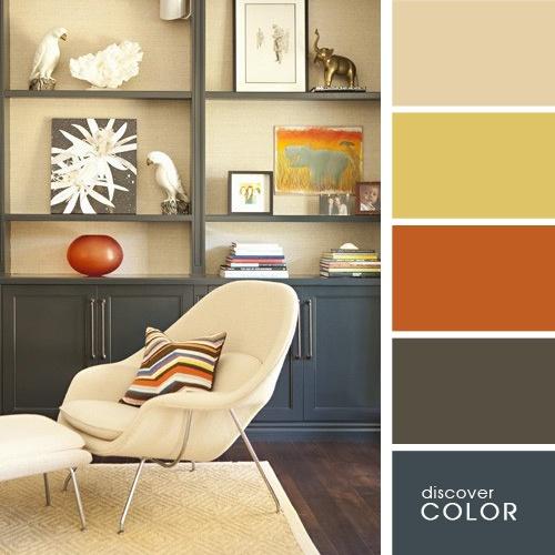 20 exquisitas combinaciones de colores para un hogar - Paleta de colores neutros ...