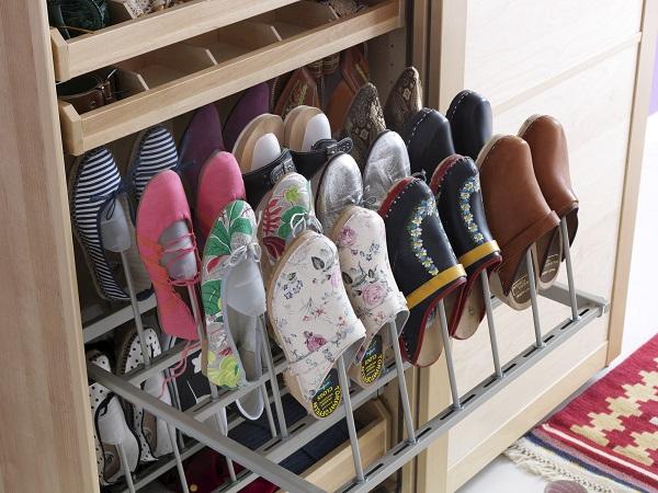24 ideas para guardar los zapatos - Organizador zapatos ikea ...