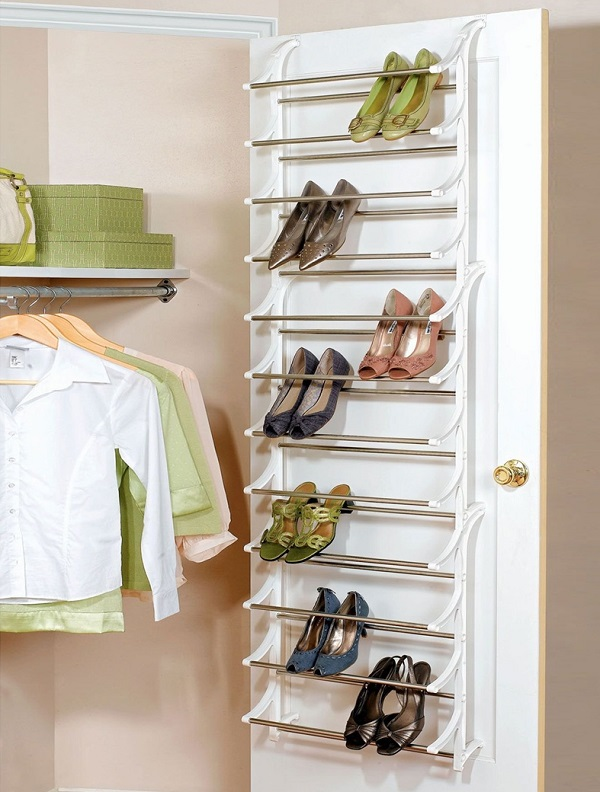 24 ideas para guardar los zapatos for Placard reciclado