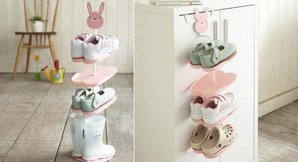 24 ideas para guardar los zapatos - Zapatero para ninos ...
