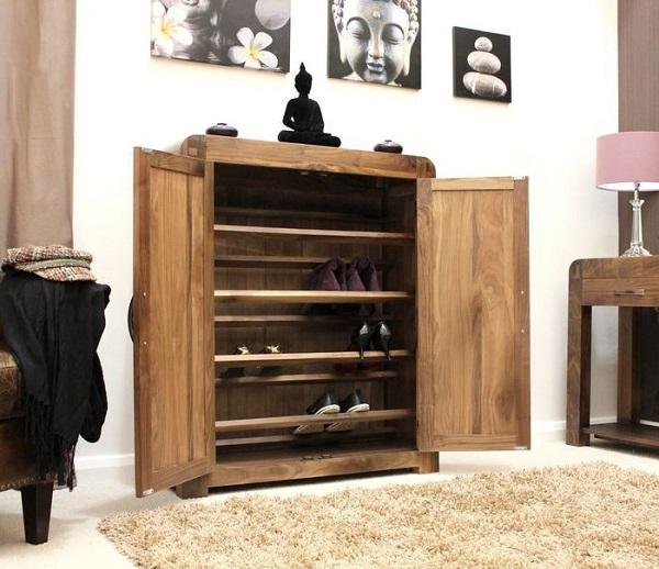 24 ideas para guardar los zapatos - Muebles para guardar zapatos ...