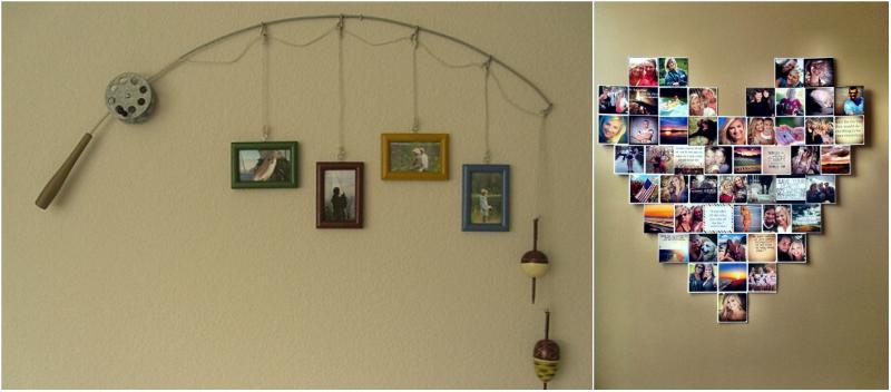 C mo poner fotos en la pared for Como instalar un espejo en la pared