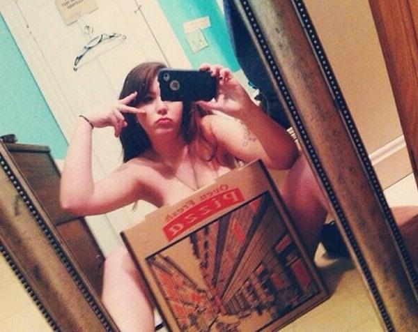 encantador selfie