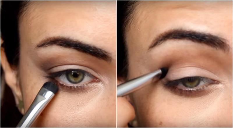 maquillaje parpado inferior