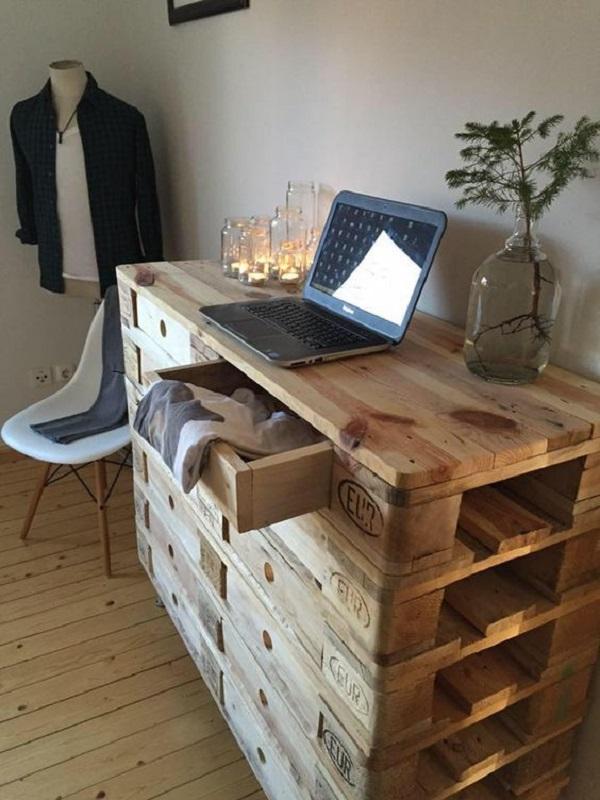 Muebles de palets con manos propias for Muebles cantero