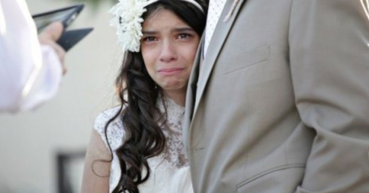 ni u00f1a de 11 a u00f1os se casa con un hombre mayor