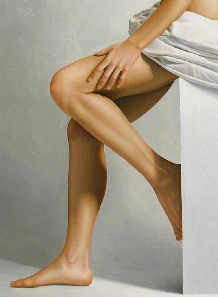 Tarjeta De Cumplranos De Mujer Desnuda -