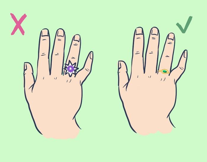 Reglas de etiqueta para llevar anillos