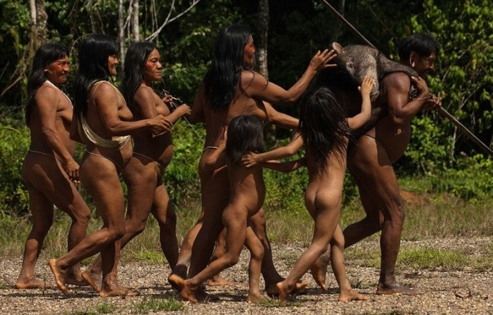 tribus salvajes gays selva amazonica