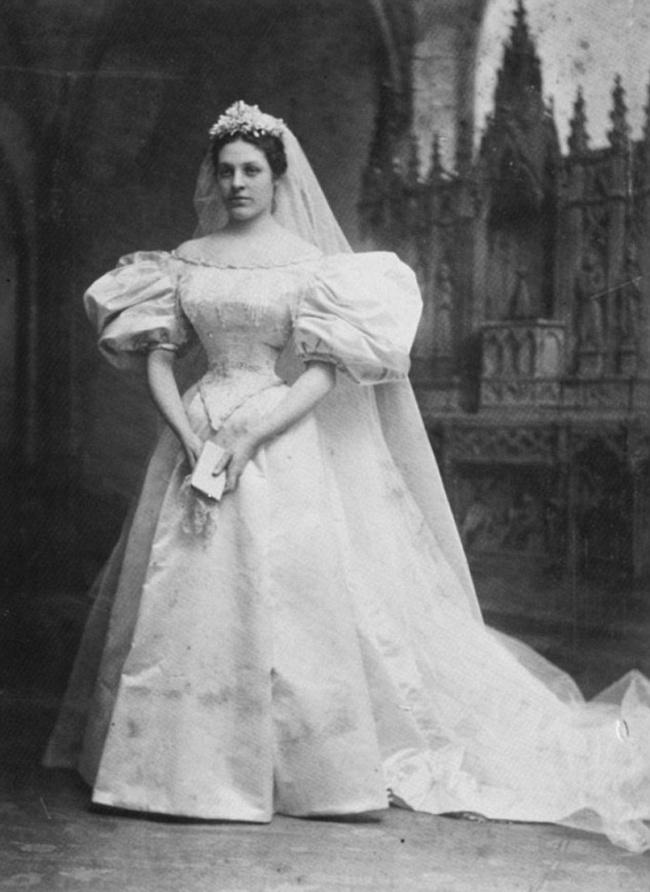 Vestido de novia heredado por generaciones