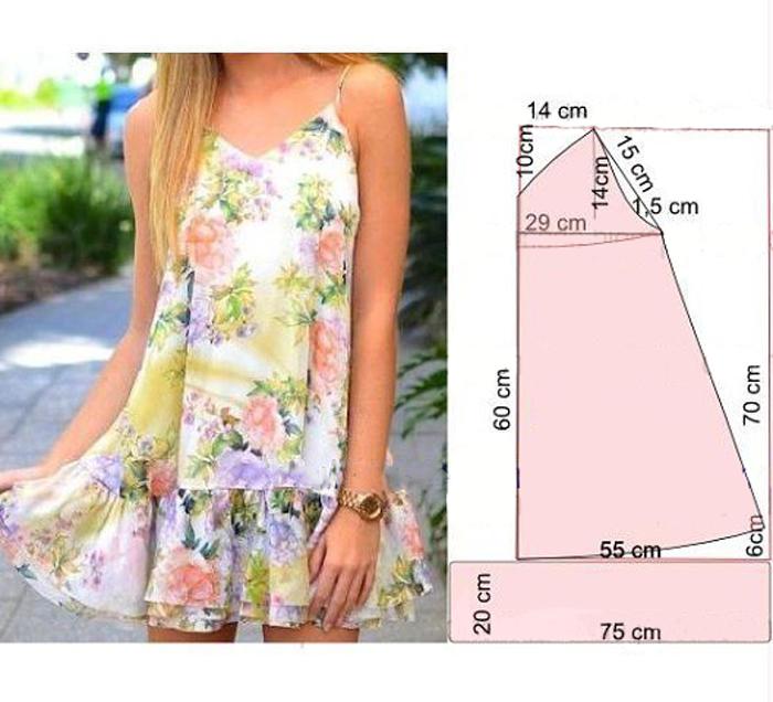 a50aa8883 Vestido original de verano  Será muy actual esta temporada.