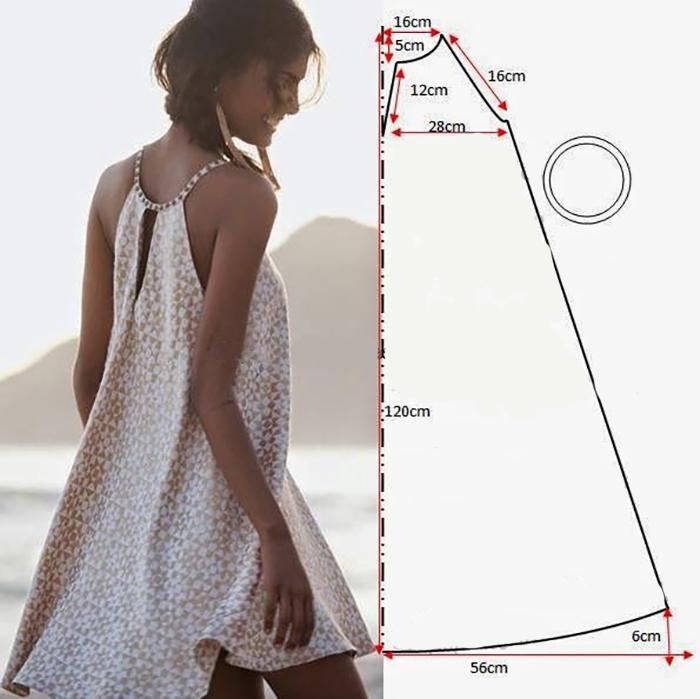 Vestidos de patrones simples